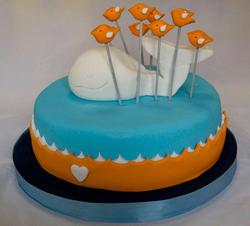 Fail Whale Cake for Twitter Fans
