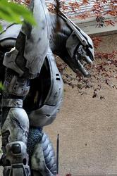 Awesome Halo Elite Costume by PeteManderFX