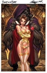 Hot Fairytale Ladies in Comic Style by Jeffrey Scott Campbell