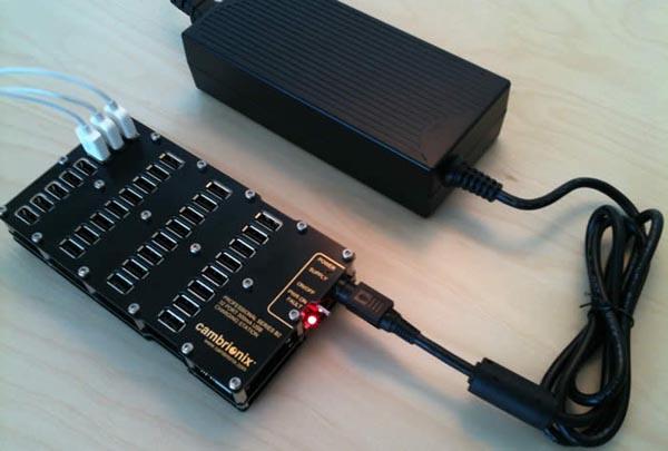 Cambrionix B2 32-Port USB Charging Station