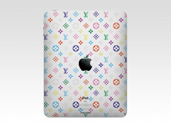 Colorful Louis Vuitton Monogram iPad Decal
