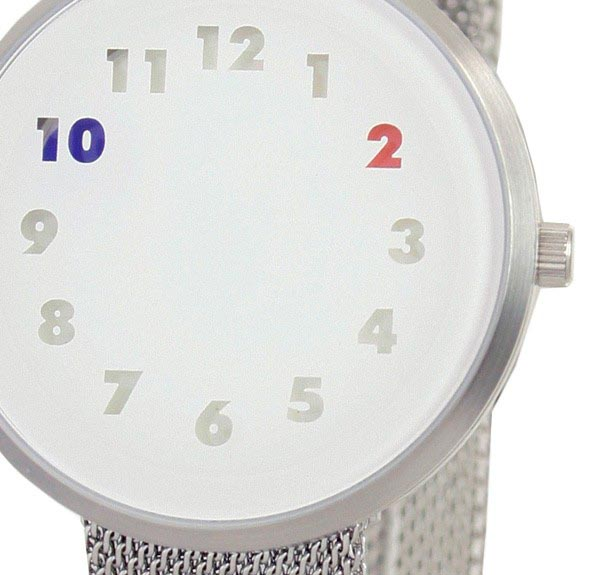 Colorful Time by Iridium Watch