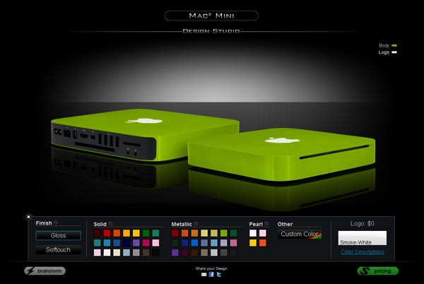 ColorWare Mac Mini Custom Service