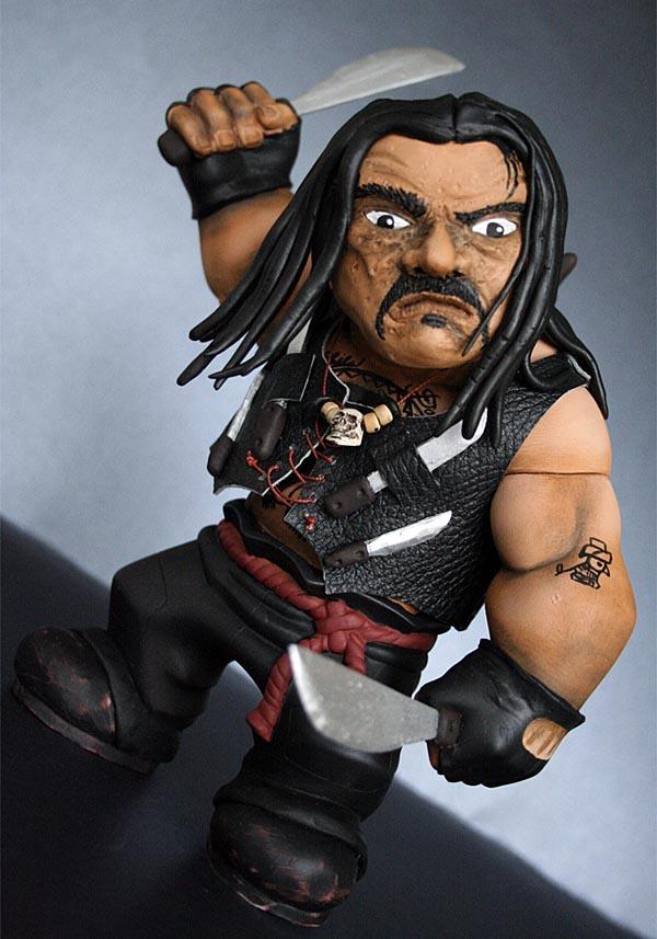 Custom Machete Figure