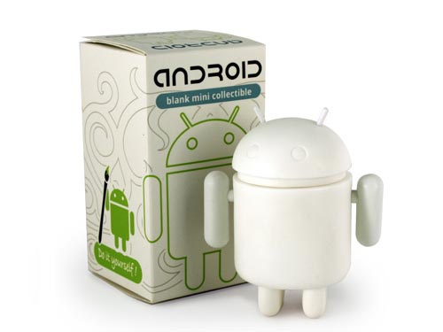 Customizable Do-It-Yourself Android Mini Figure