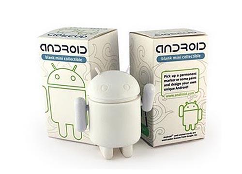 Customizable Do-It-Yourself Android Mini Figure