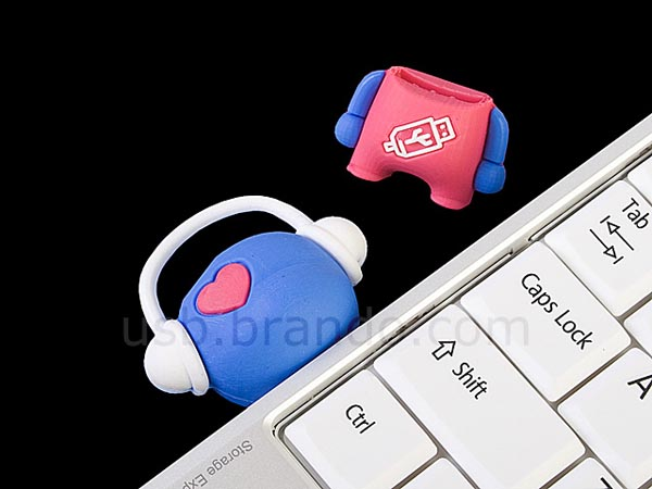 Cute Musical Bear USB Flash Drive