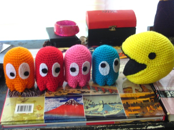 Cute Set of Pacman Plush Toys