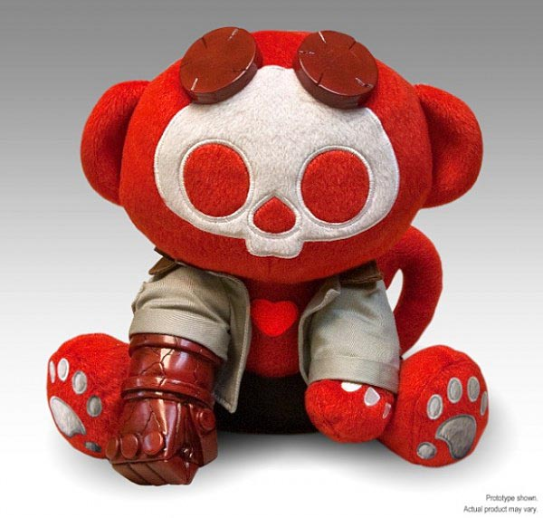 Cute Skelanimals Hellboy Plush
