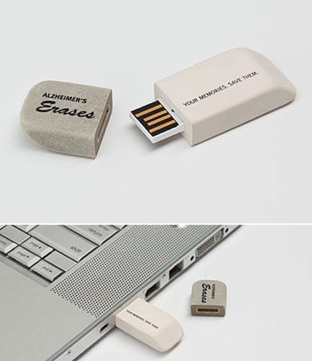 Eraser USB Flash Drive