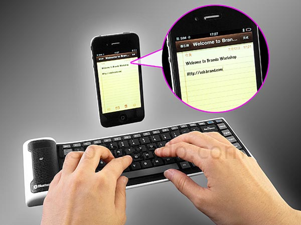 Flexible Bluetooth Mni Wireless Keyboard