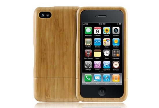 Handmade Customizable Wooden iPhone 4 Case