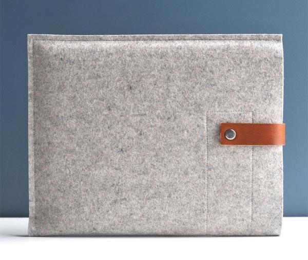 Handmade Elegant iPad Sleeve