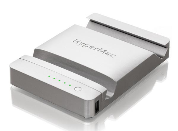 HyperMac iPad Stand Doubled as Portable Charger