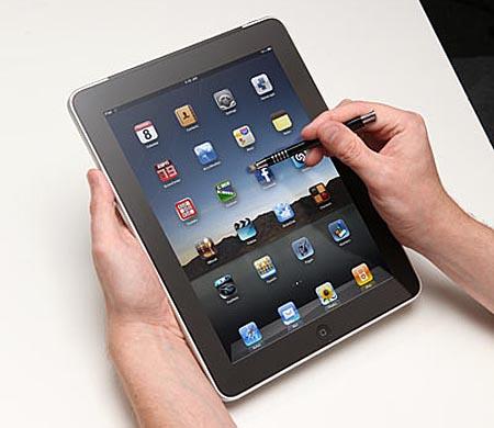 iCooly Brush Styled iPad/iPhone Stylus
