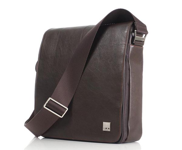 iPad-Friendly Knomo Bungo Netbook Messenger Bag