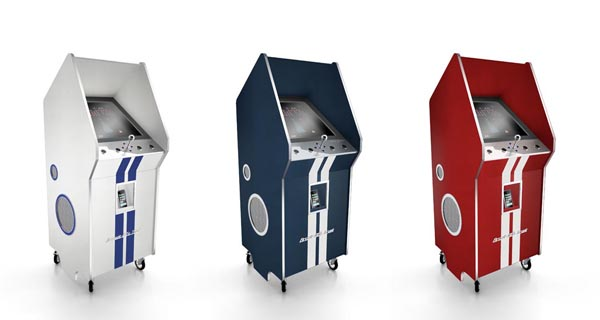 Luxury Arcade Machine with iPod Dock