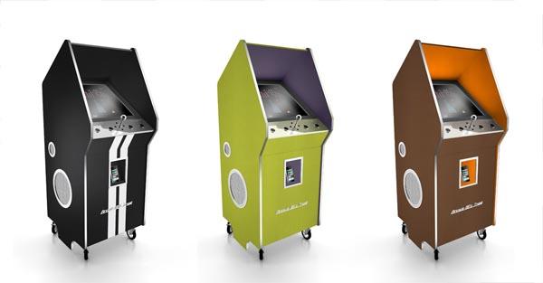 Luxury Arcade Machine with iPod Dock