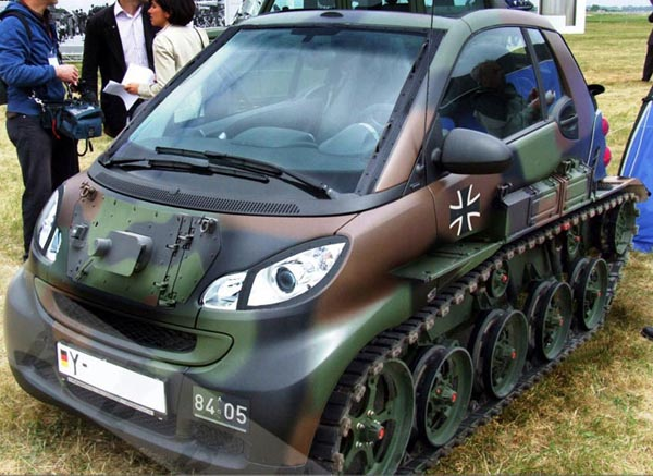 Mercedes Smart Tank
