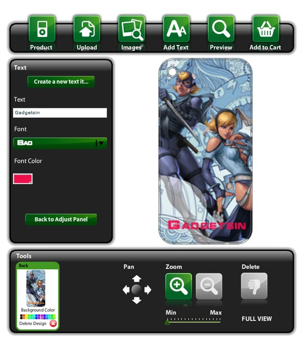 MusicSkins Customizable iPhone 4 Skins