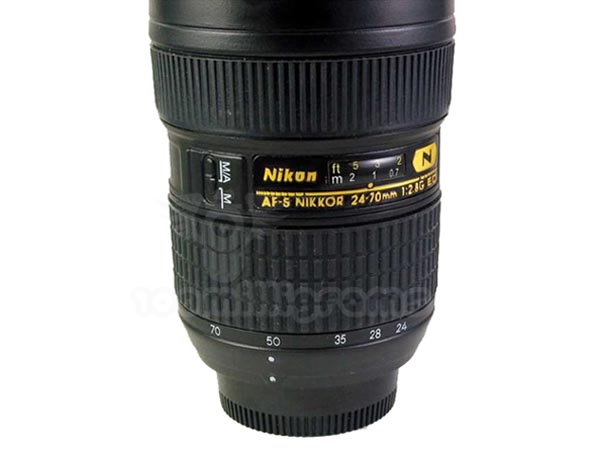 nikon af s 24 70mm lens mug not for dslr camera gadgetsin. Black Bedroom Furniture Sets. Home Design Ideas