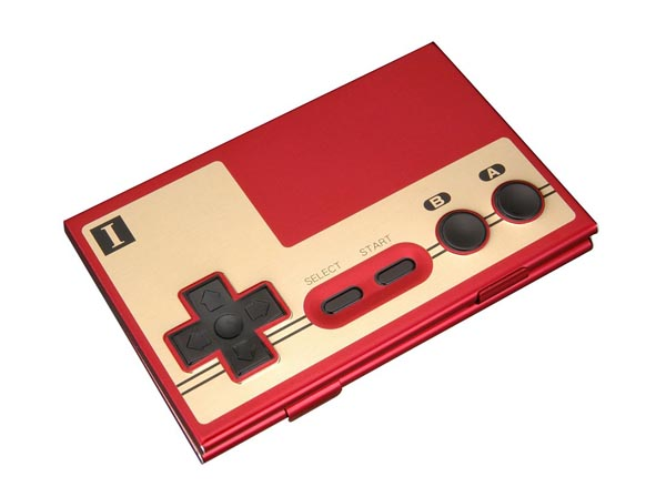 Nintendo Famicom Gamepad Business Card Holder Gadgetsin