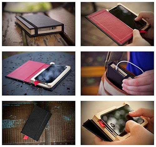 Pad&Quill Little Black Book iPhone 4 Case