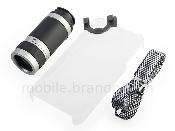 Portable iPhone 4 Telescope