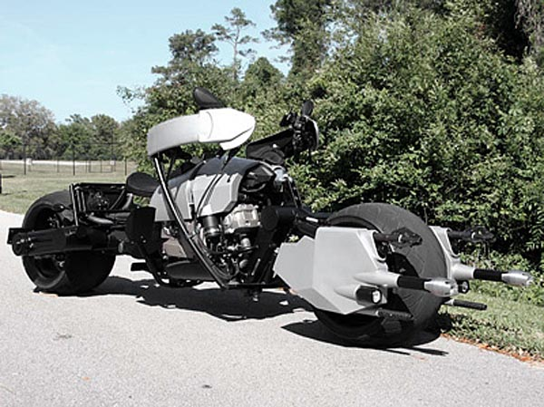 Batman Batpod Custom Motorcycle On The Road Gadgetsin