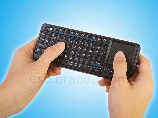 Rii Mini Wireless Bluetooth Keyboard with Touchpad