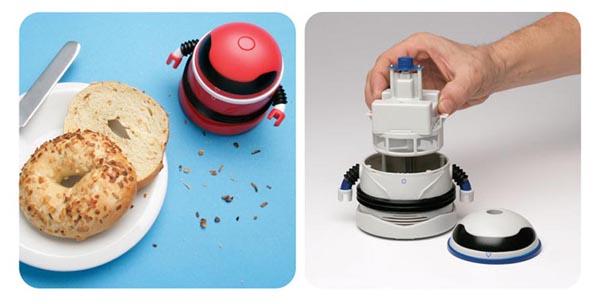 Robot Handheld Mini Vacuum Cleaner