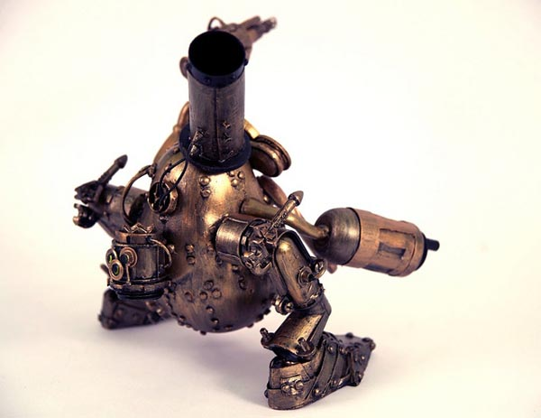 Steampunk Mr Potato Head Gadgetsin