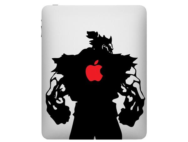 Street Fighter Gouki Akuma iPad Decal