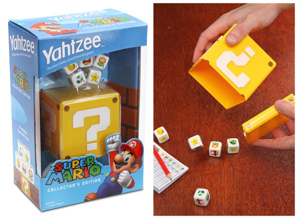 Super Mario Yahtzee Dice Game