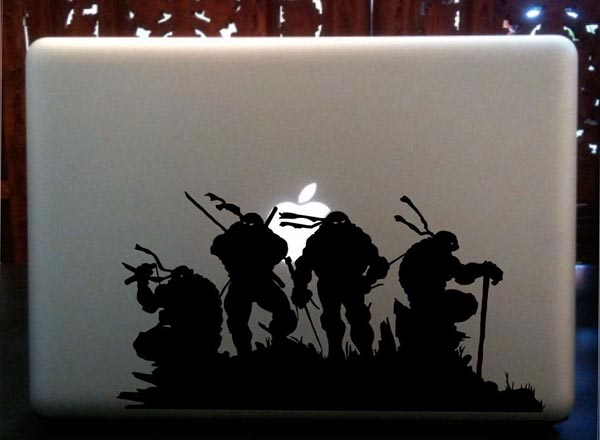 Teenage Mutant Ninja Turtles MacBook Sticker