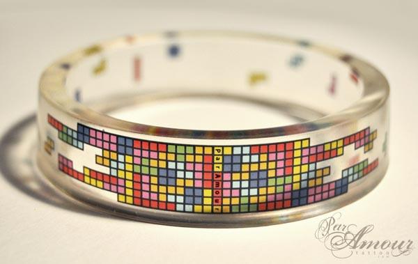 Tetris Bangle Bracelet