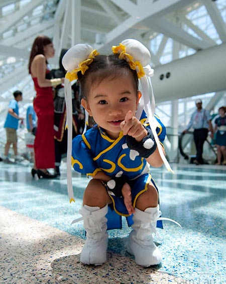 The Cutest Chun Li Not in Street Fighter