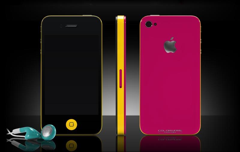 #Elle´s phone ♥  Through_colorware_customize_iphone_4_color