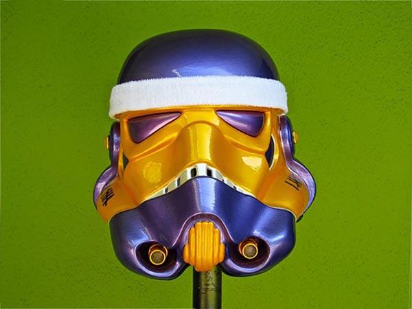 TK Lakers Stormtrooper Helmet