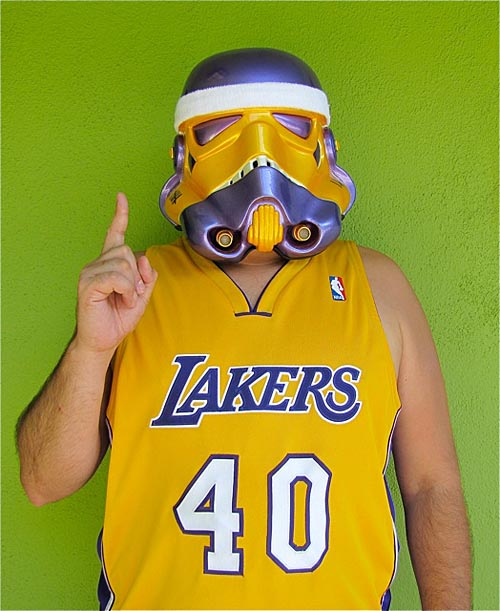 TK Lakers Stormtrooper Helmet