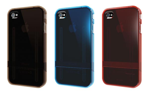 Translucent Gumdrop Surf Slider iPhone 4 Case
