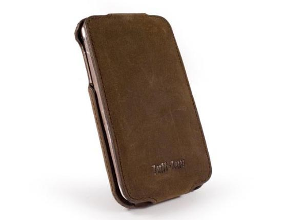 Tuff-Luv Saddleback iPhone 4 Leather Case