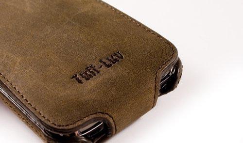 online store bfa73 f44c4 Tuff-Luv Saddleback iPhone 4 Leather Case | Gadgetsin
