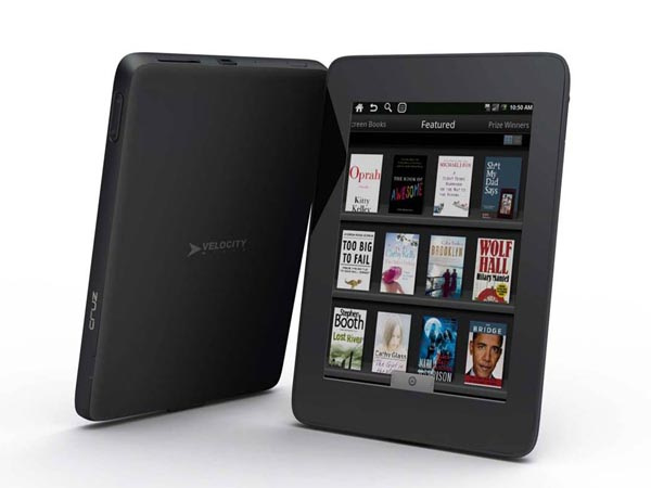 Velocity Micro Cruz eReader and Tablet Running on Android OS