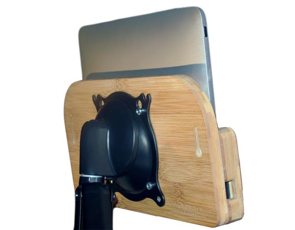 VESA Compliant Walet iPad Wall Mount