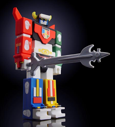 Voltron Robot Figure USB Flash Drive