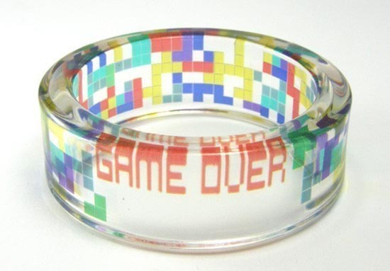 Yet Another Tetris Handmade Bangle Bracelet