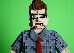 Pixelated 8-bit Costume