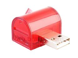 USB Mail Box Connecting Facebook and Twitter