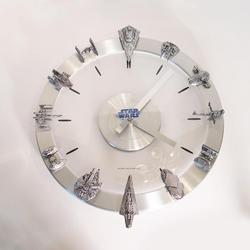 Star Wars Vehicles and Starships Clock
